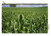 Field Of Wheat. Auvergne. France. Europe Carry-all Pouch