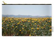 Fields Of Safflowers Carry-all Pouch