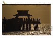 Fishing At Naples Pier Carry-all Pouch