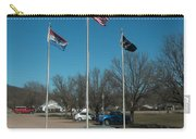 Flags With Blue Sky Carry-all Pouch
