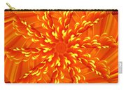 Floral Sunrise Carry-all Pouch