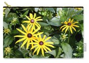 Flower Rudbeckia Fulgida In Full Carry-all Pouch by Ted Kinsman