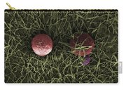 Flowers, Digital Streak Image Carry-all Pouch