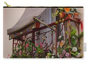 Flowery Balcony Carry-all Pouch