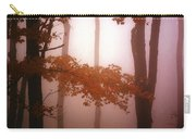 Foggy Misty Trees Carry-all Pouch