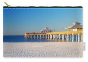 Fort Myers Beach Pier Carry-all Pouch