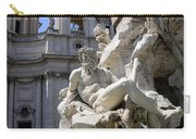 Fountain. Piazza Navona. Rome Carry-all Pouch