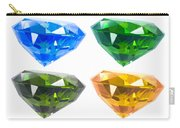 Four Diamond Carry-all Pouch