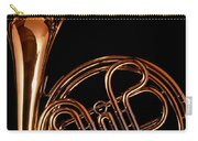 French Horn With Sparks Carry-all Pouch