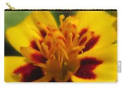 French Marigold Named Starfire Carry-all Pouch