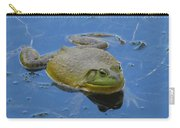 Frog In Pond Carry-all Pouch