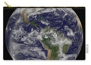Full Earth Showing North America Carry-all Pouch