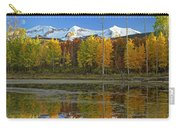 Full Moon Over East Beckwith Mountain Carry-all Pouch