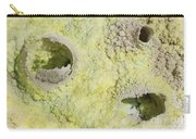 Fumarole Deposits In The Dallol Carry-all Pouch