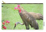 Garden Visitors Carry-all Pouch by Carol Groenen