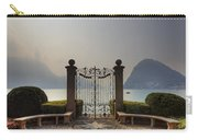 Gateway To The Lake Of Lugano Carry-all Pouch