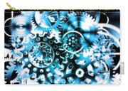 Gears Wheels Design  Carry-all Pouch by Setsiri Silapasuwanchai