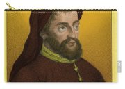 Geoffrey Chaucer, Father Of English Carry-all Pouch