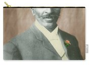George W. Carver, African-american Carry-all Pouch by Science Source