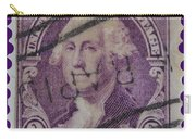 George Washington Postage Stamp Carry-all Pouch