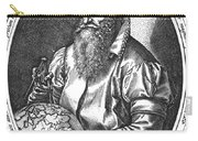 Gerardus Mercator, Flemish Cartographer Carry-all Pouch