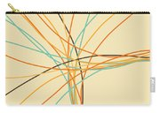 Graphic Line Pattern Carry-all Pouch by Setsiri Silapasuwanchai