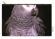 Gray Parrot Carry-all Pouch
