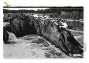 Great Falls Virginia Bw Carry-all Pouch