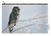 Great Grey Owl, Northern British Carry-all Pouch