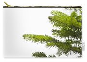 Green Branches Of A Christmas Tree Carry-all Pouch