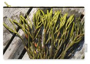 Green Fleece Seaweed Carry-all Pouch