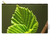 Green Spring Leaves Carry-all Pouch by Elena Elisseeva