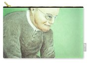 Gregor Mendel, Father Of Genetics Carry-all Pouch