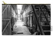 Grim Cell Block In Philadelphia Eastern State Penitentiary Carry-all Pouch