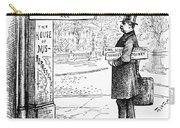 Grover Cleveland Cartoon Carry-all Pouch