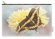 Grunge Giant Swallowtail Carry-all Pouch