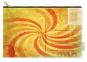 Grunge Ray On Old Postcard Carry-all Pouch
