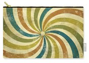 grunge Rays background Carry-all Pouch