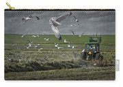 Gull Chased Tractor Carry-all Pouch