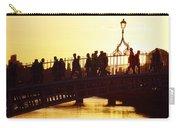 Hapenny Bridge, Dublin, Co Dublin Carry-all Pouch
