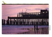 Hastings Pier After The Fire Carry-all Pouch by Dawn OConnor