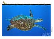 Hawksbill Sea Turtle, Kimbe Bay, Papua Carry-all Pouch
