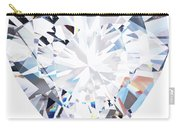 Heart Diamond  Carry-all Pouch