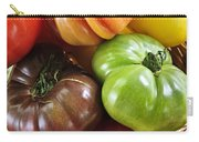 Heirloom Tomatoes Carry-all Pouch by Elena Elisseeva