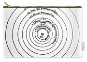 Heliocentric Universe, Copernicus, 1543 Carry-all Pouch
