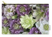 Hellebore Helleborus Sp Flowers Carry-all Pouch