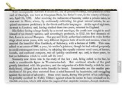 Henry Fielding (1707-1754) Carry-all Pouch