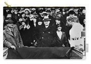 Herbert Hoover (1874-1964) Carry-all Pouch by Granger