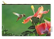 Hibiscus Hummer Carry-all Pouch