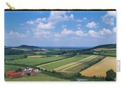 High Angle View Of Fields, Stradbally Carry-all Pouch